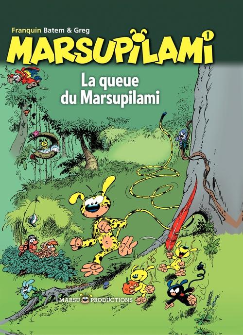Marsupilami T.1 ; la queue du Marsupilami