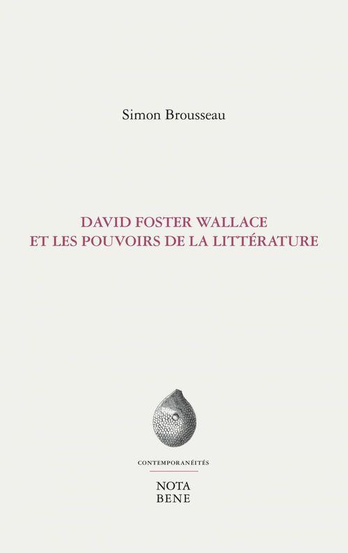 David foster wallace et les pouvoirs de la litterature