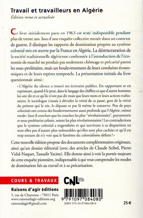 Travail et travailleurs en Algérie