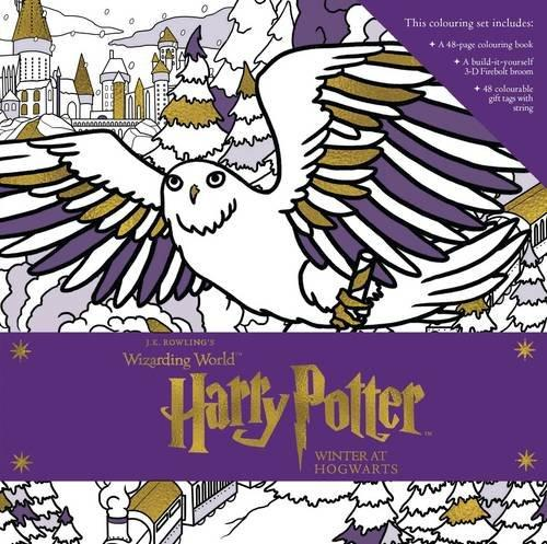 HARRY POTTER: WINTER AT HOGWARTS - A MAGICAL COLOURING SET