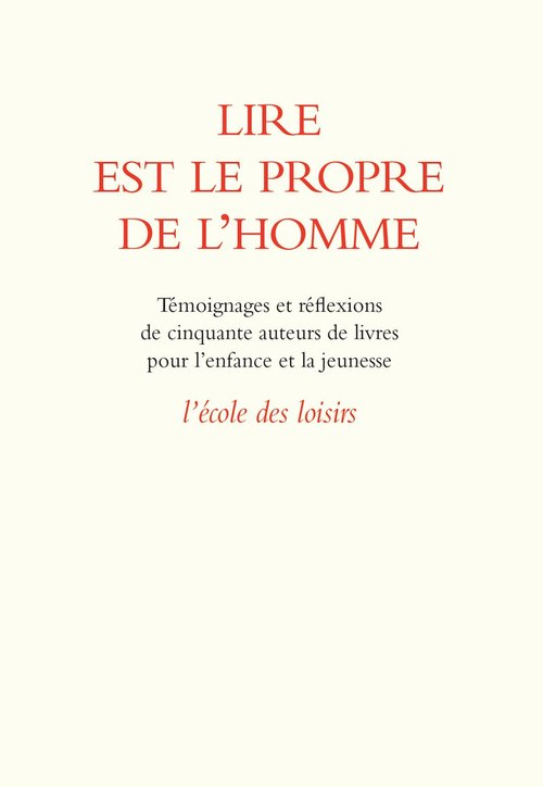 lire est le propre de l'homme 08/2011