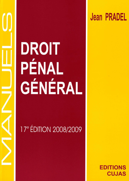 Droit pénal général (17e édition 2008)