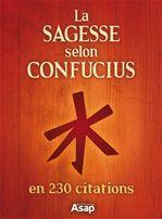 La sagesse selon confucius