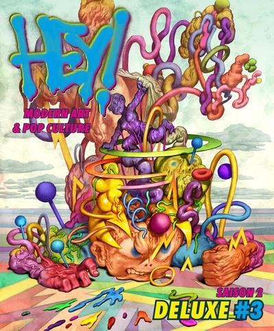 Hey ! deluxe - modern art & pop culture n.3 ; season 2