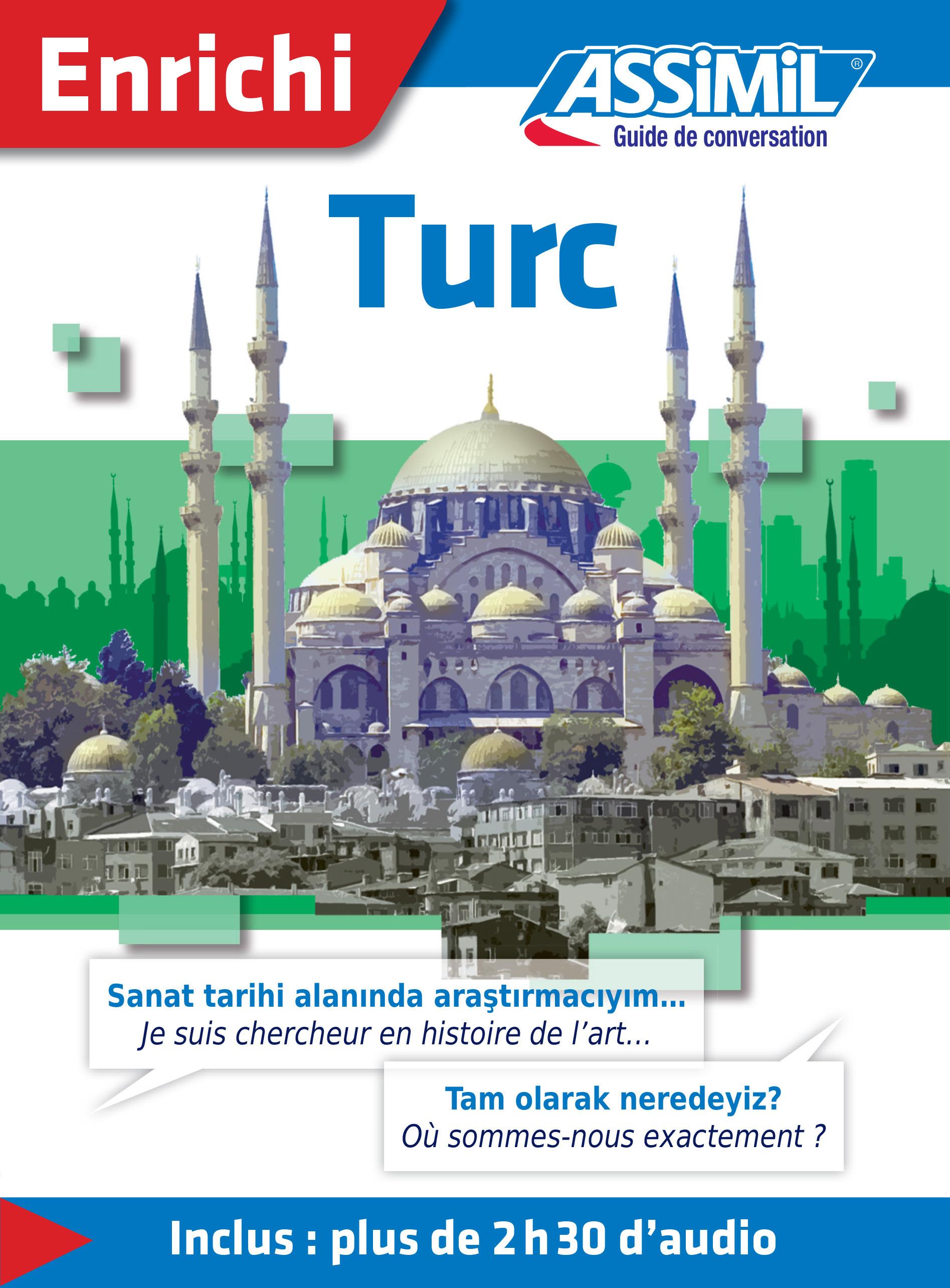 Turc ; guide de conversation