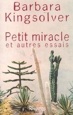Couverture de Petit miracle et autres essais