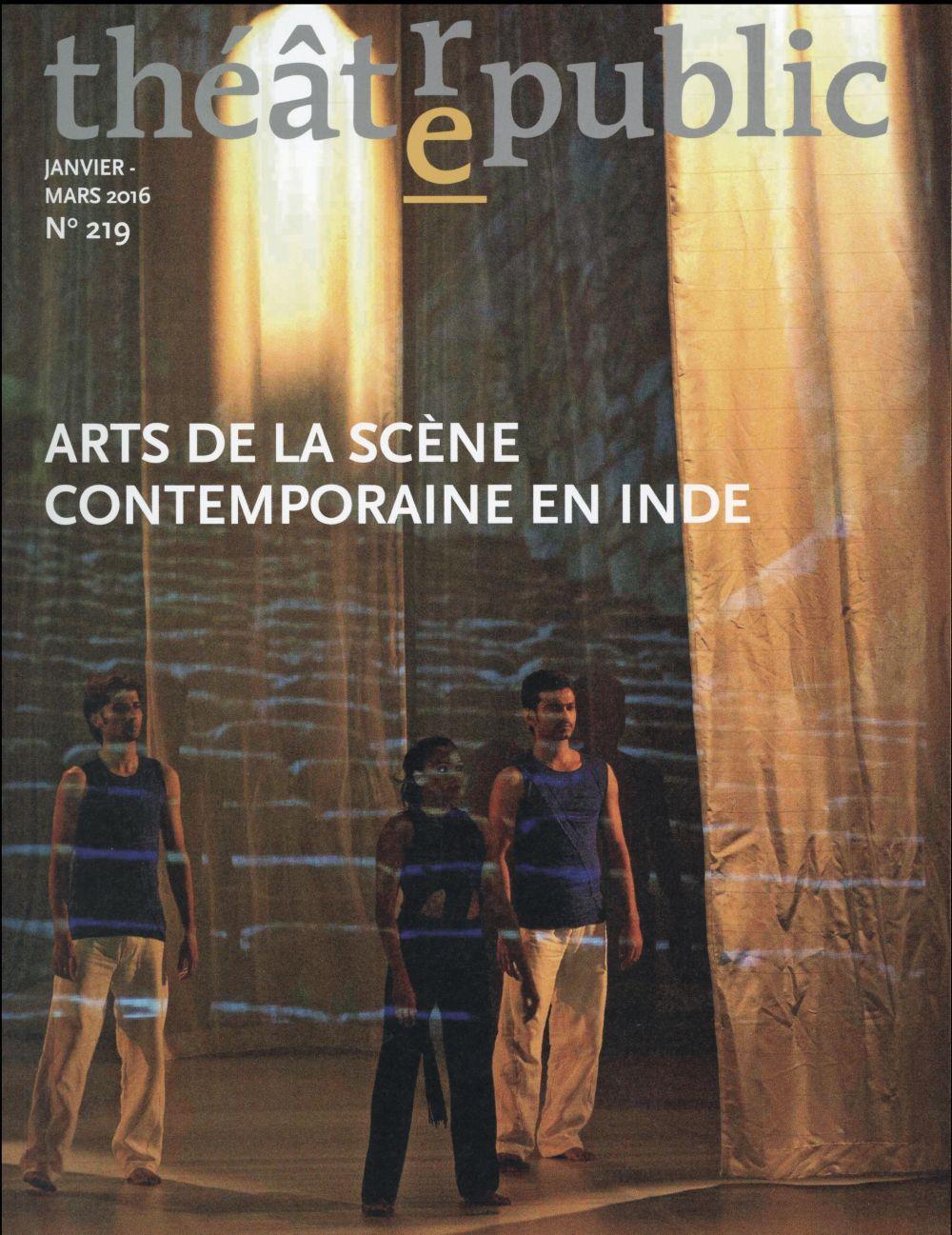 Théâtre-public Arts de la scène contemporaine en Inde