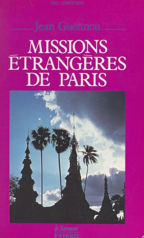 Missions étrangères de Paris