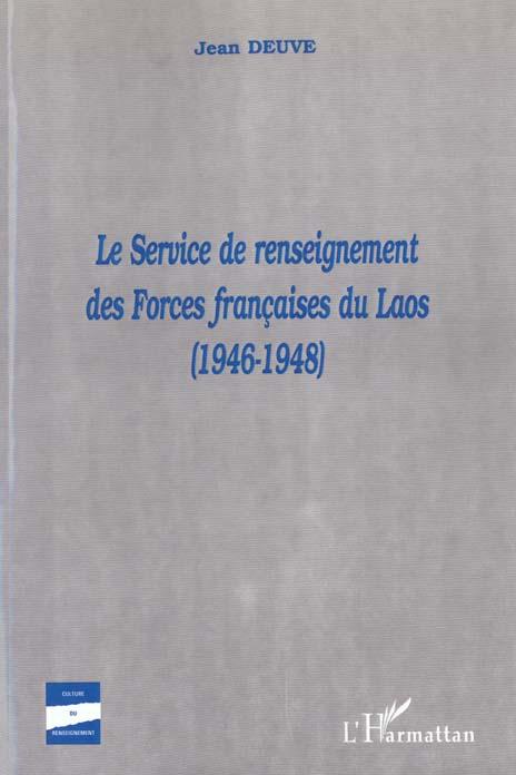 Le service de renseignement des forces francaises du laos (1946-1948)