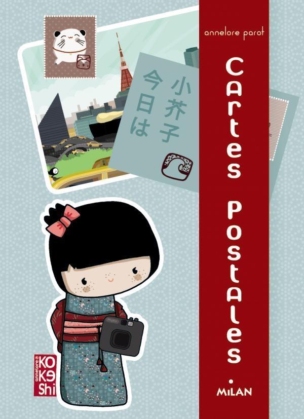 Kokeshi ; mes cartes postales