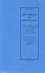 Vente Livre Numérique : Une enquête aux pays du Levant  - Maurice BARRES