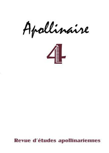 Revue d'etudes apollinariennes n.4