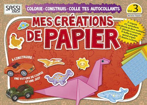 Mes Creations De Papier T.3