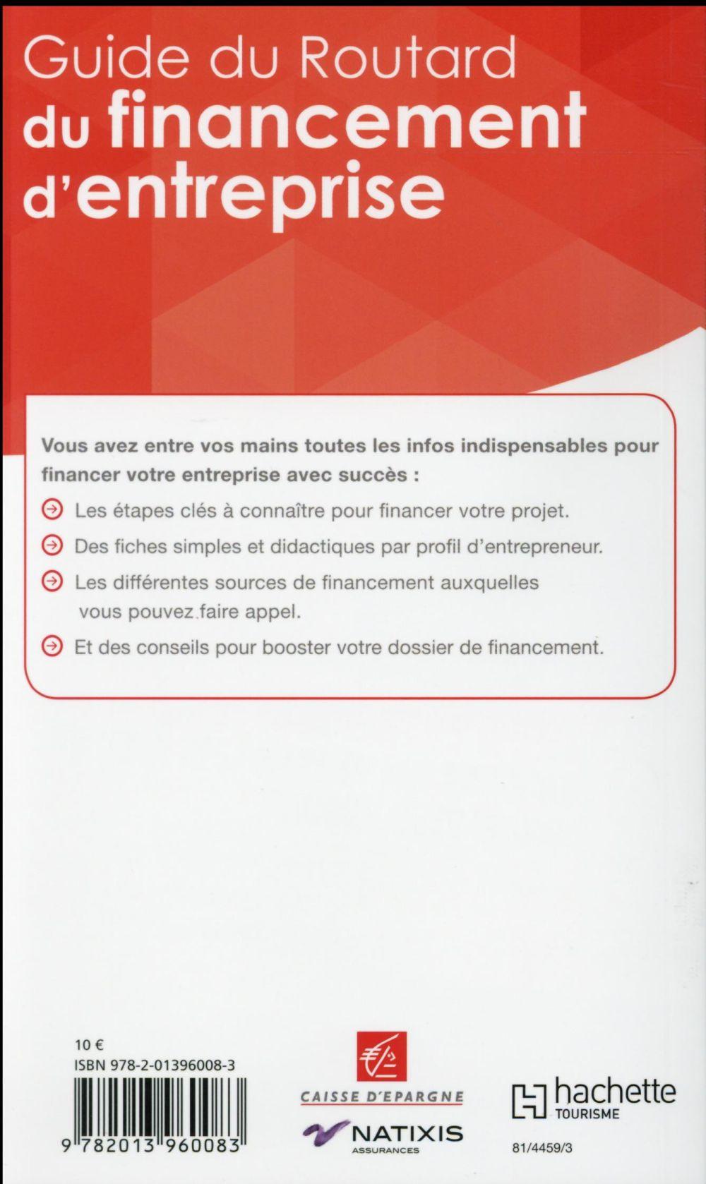 Guide du Routard ; du financement d'entreprise