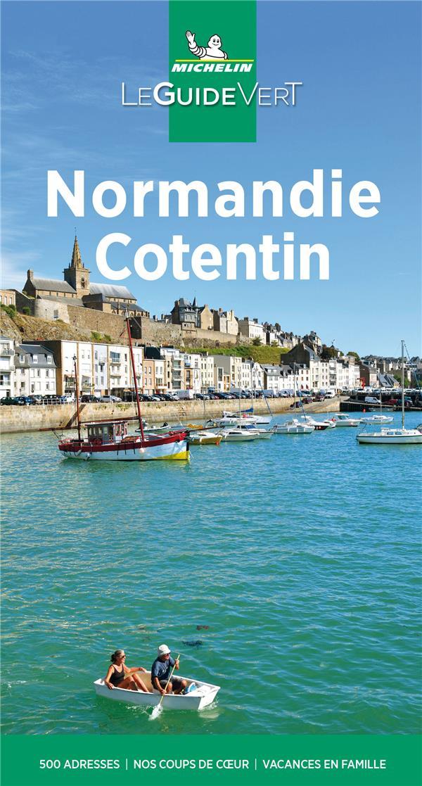 Le guide vert ; Normandie, Cotentin (édition 2021)