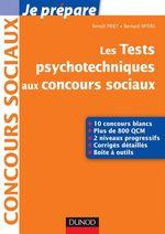 Vente EBooks : Les tests psychotechniques aux concours sociaux  - Benoît Priet - Bernard Myers