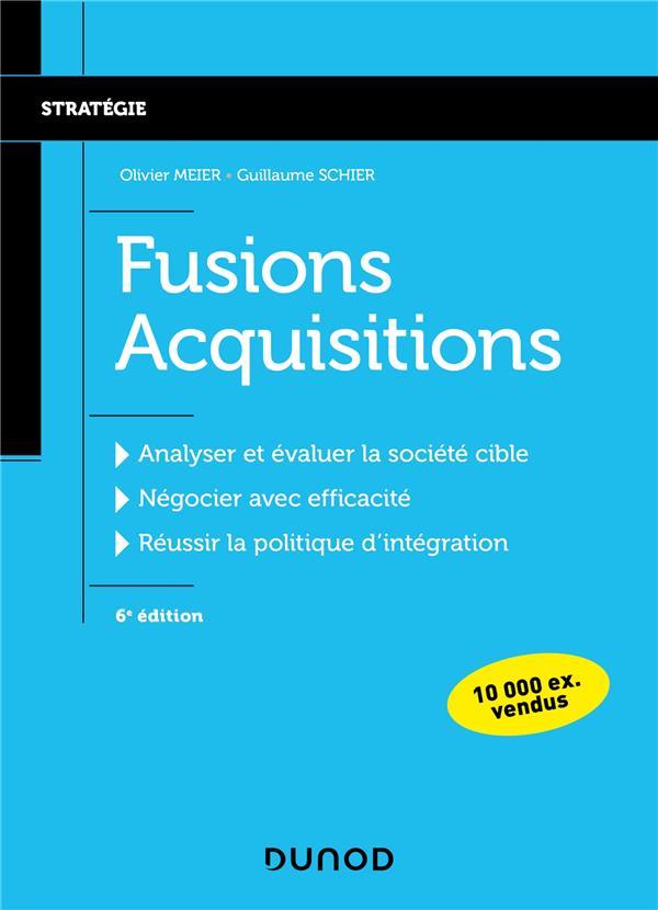 Fusions acquisitions (6e édition)