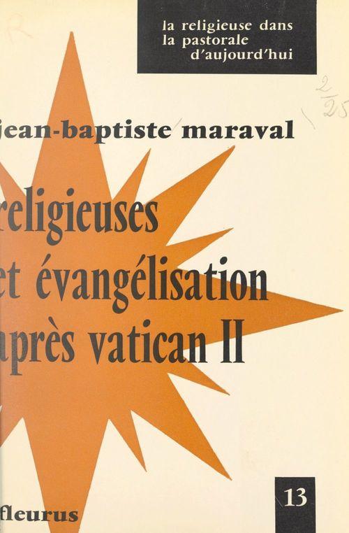Religieuses et évangélisation après Vatican II