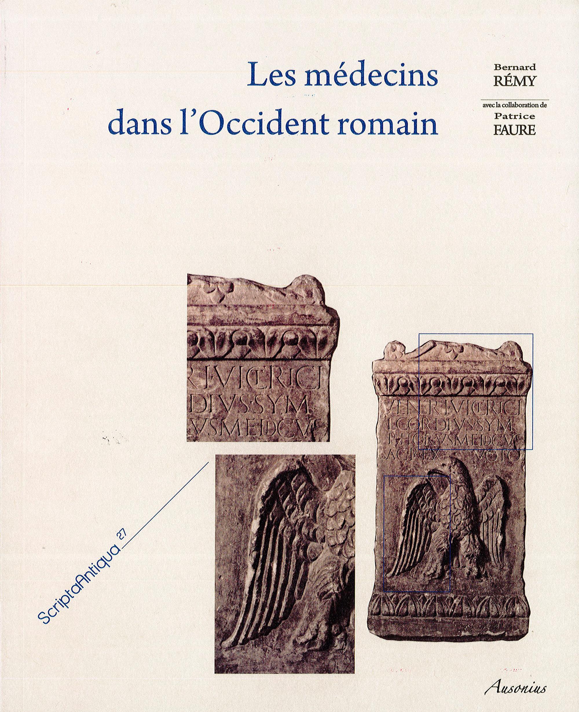 Les médecins dans l´Occident romain