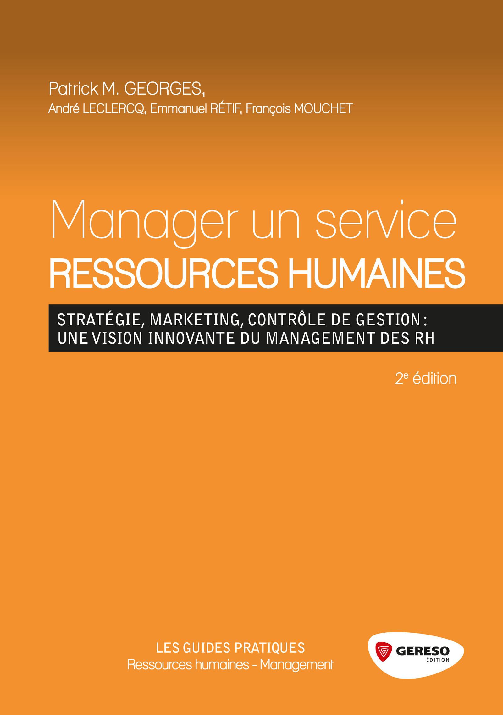 Manager un service ressources humaines (2e édition)