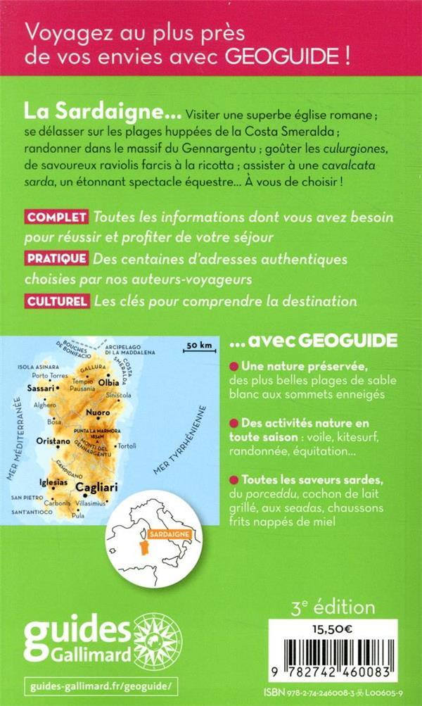 GEOguide ; Sardaigne (édition 2020)
