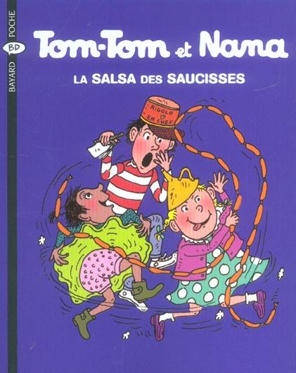 Tom-Tom et Nana T.30 ; la salsa des saucisses