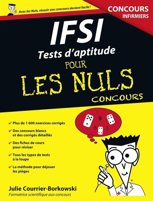 IFSI ; tests d'aptitude pour les nuls ; concours infirmiers