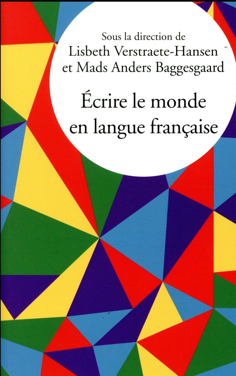 écrire le monde en langue française