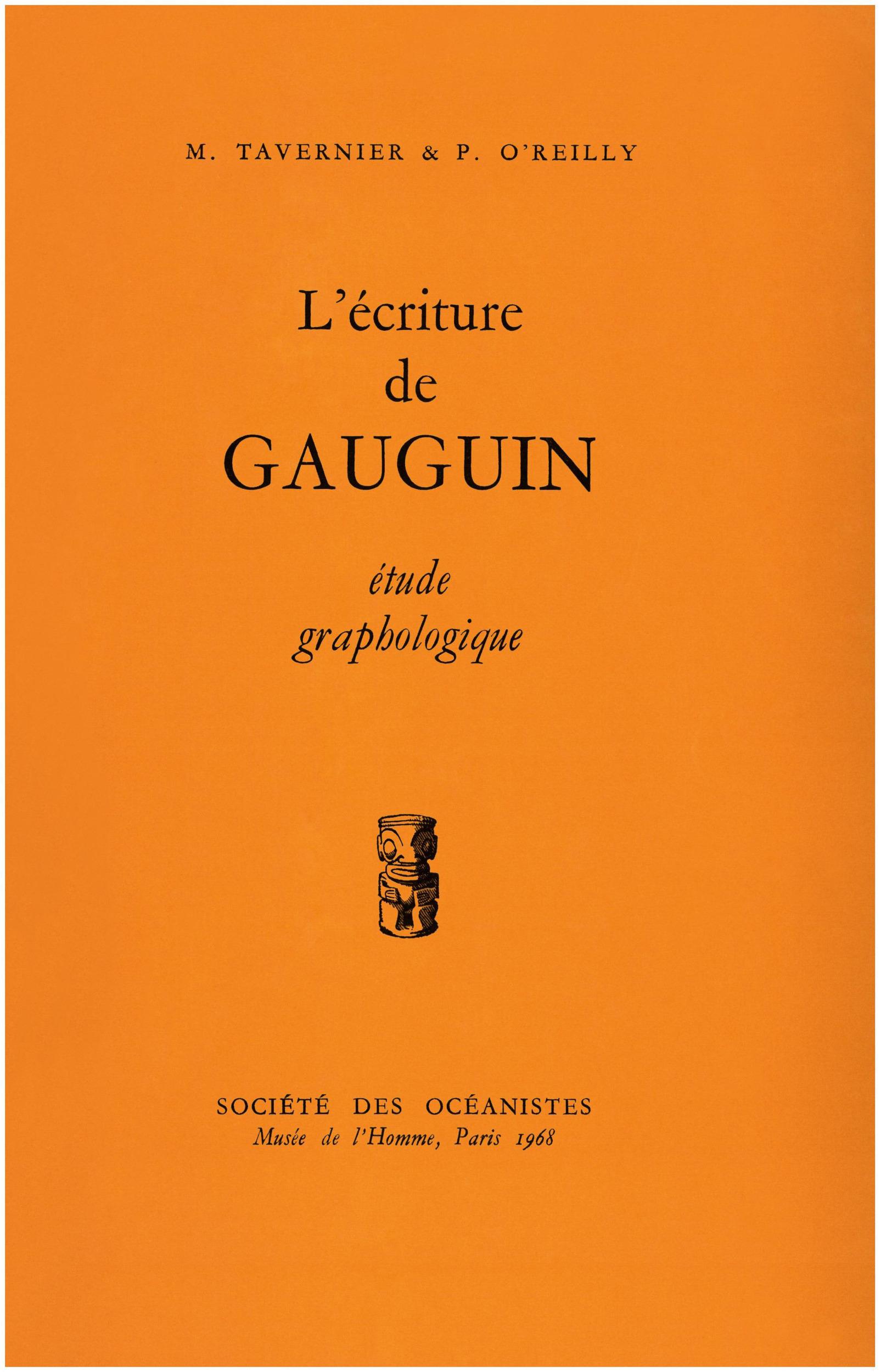 L´écriture de Gauguin
