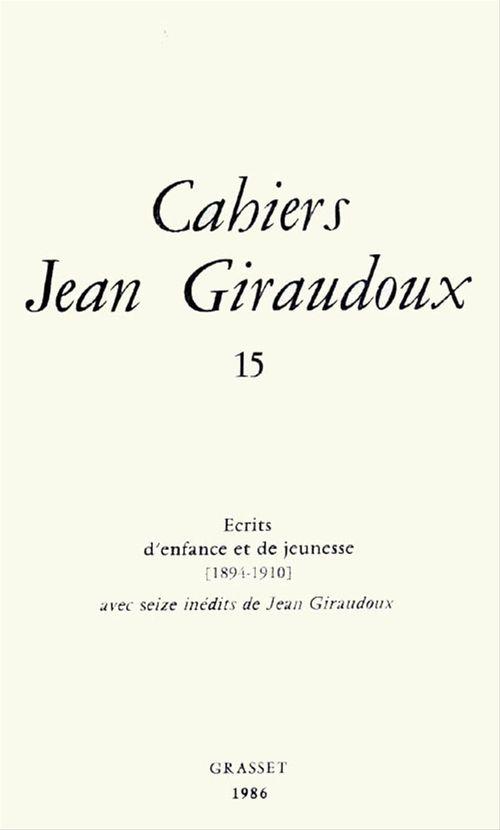 Cahiers numéro 15