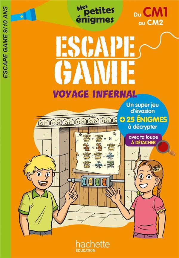 ESCAPE GAME  -  VOYAGE INFERNAL  -  DU CM1 AU CM2 LEROY-JOUENNE