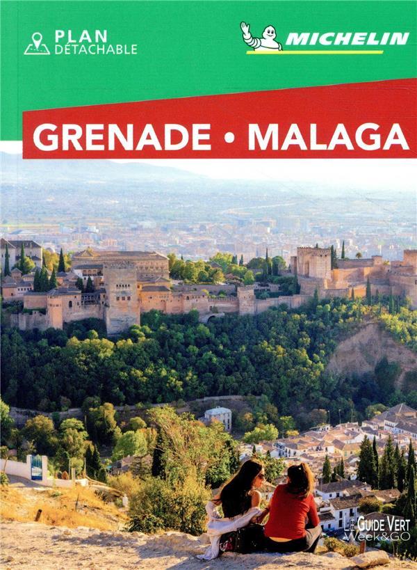 LE GUIDE VERT WEEK-END  -  GRENADE  -  MALAGA