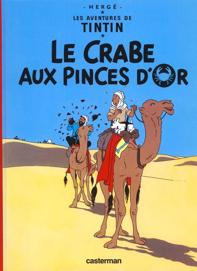 Les aventures de Tintin T.9 ; le crabe aux pinces d'or