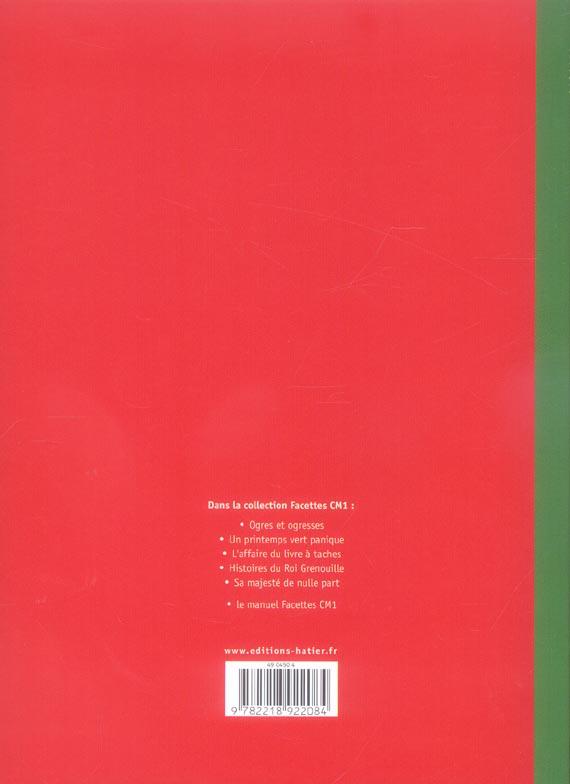 FACETTES ; CM1 ; l'affaire du livre à taches