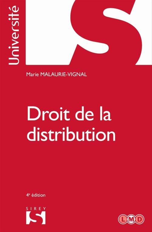 Droit de la distribution (4e édition)