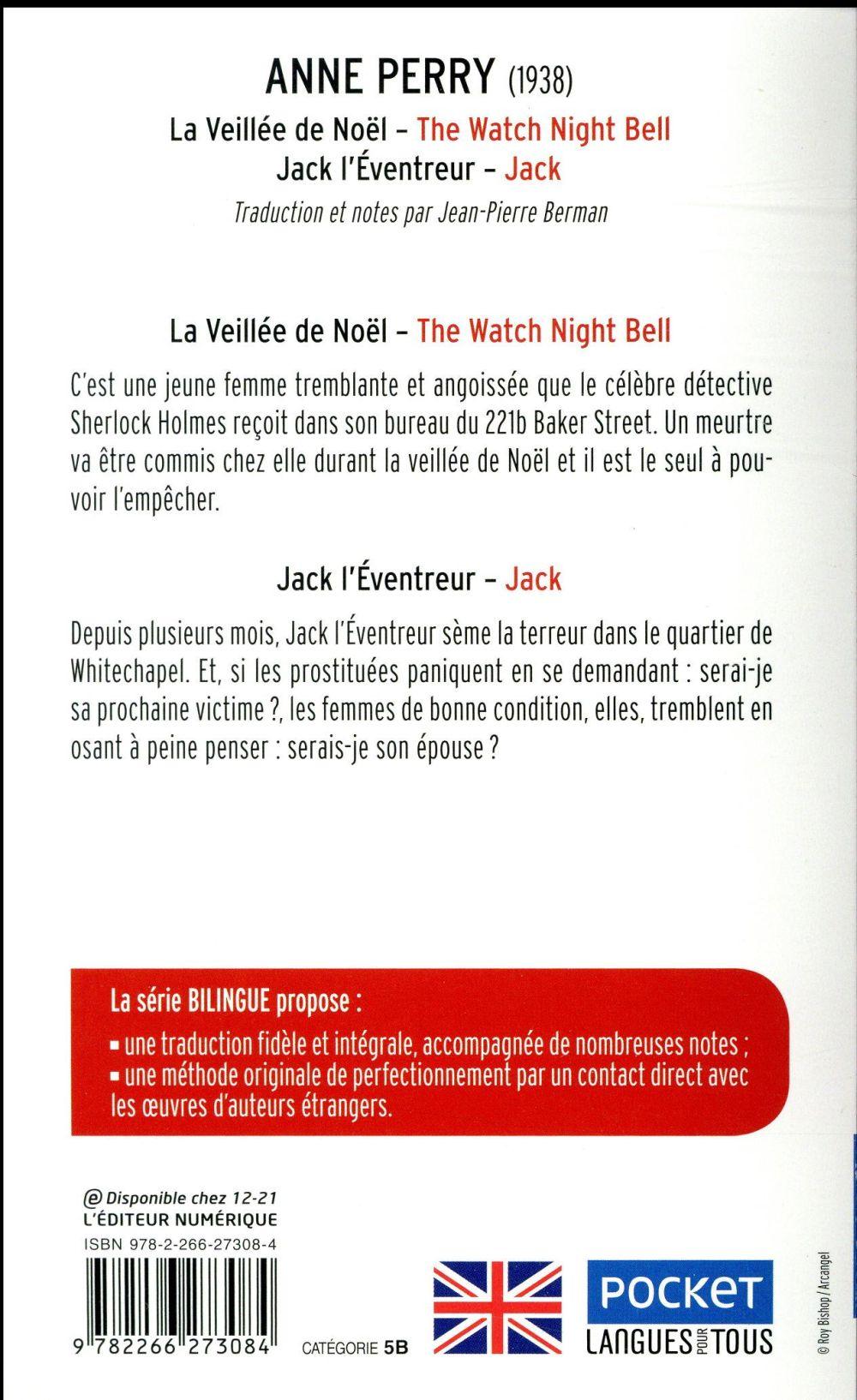 la veillée de Noël / the watch night bell ; Jack l'éventreur / Jack