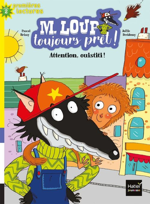 Attention ouistiti ! M. Loup toujours pret !