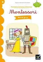 Vente EBooks : Premières lectures autonomes Montessori Niveau 3 - Mardi gras  - Stéphanie Rubini