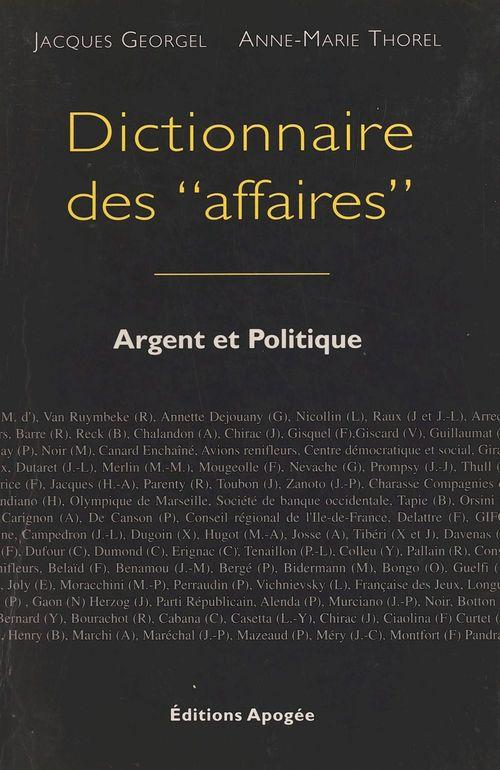 Dictionnaire des affaires