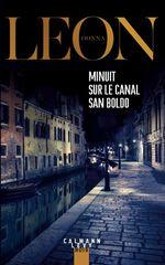Vente Livre Numérique : Minuit sur le canal San Boldo  - Donna Leon