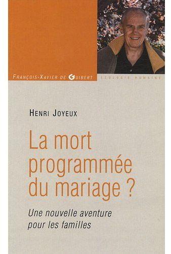 La mort programmée du mariage ? une nouvelle aventure pour les familles