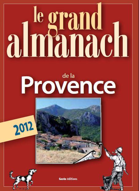 Le grand almanach de la Provence 2012