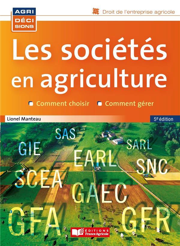 Les sociétés en agriculture (5e édition)