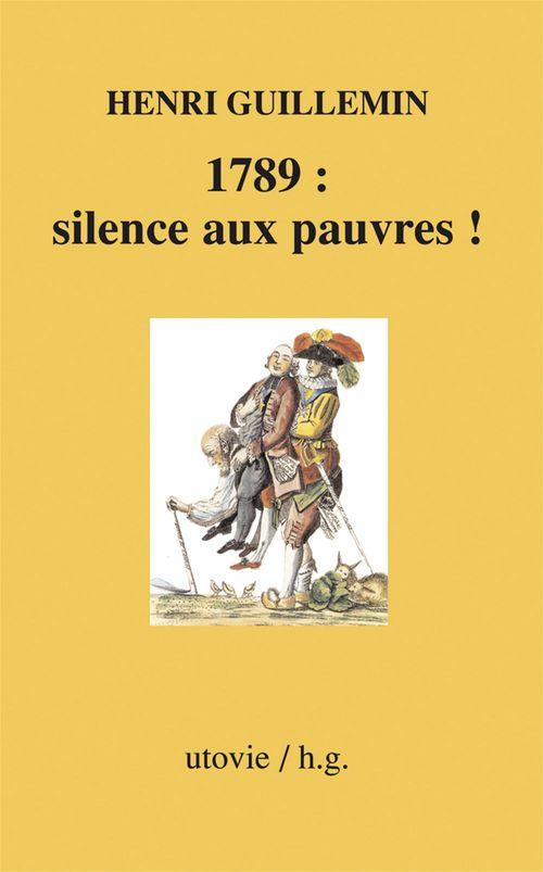 1789: silences aux pauvres!