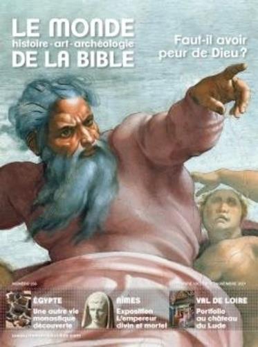 LE MONDE DE LA BIBLE n.238 ; faut-il avoir peur de Dieu ?