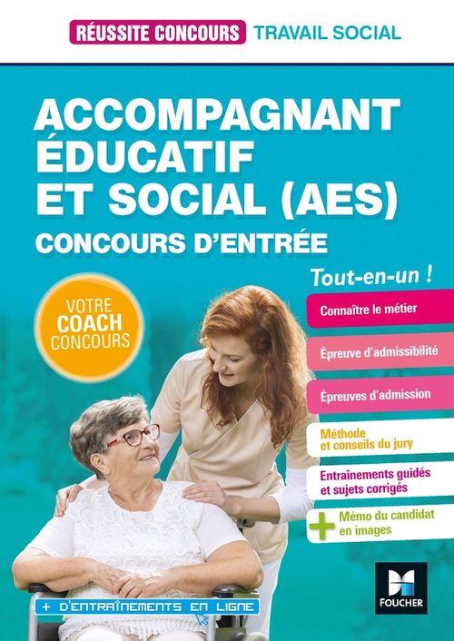 Réussite Concours - Accompagnant éducatif et social AES - 2020-2021 - Préparation complète