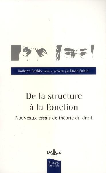 De la structure à la fonction