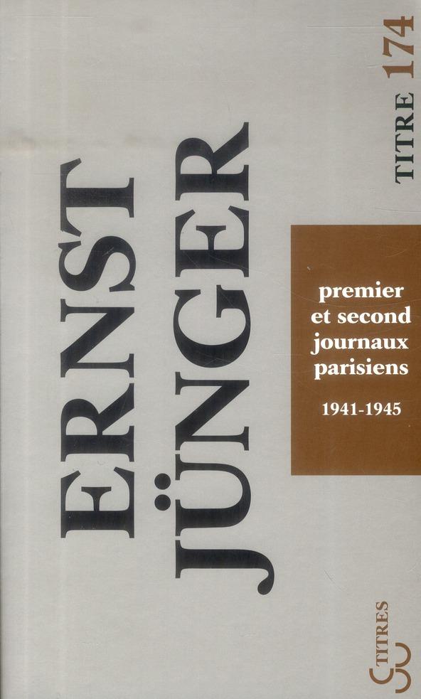 Premier et second journal parisien