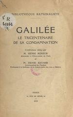 Galilée  - Henri Mineur - Henri Hauser