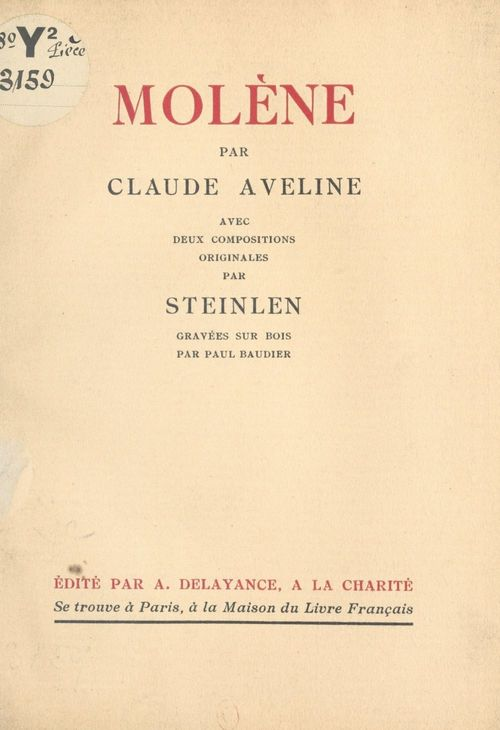 Molène  - Claude Aveline